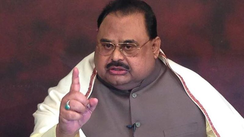 Pak Army, ISI with China's support planning to declare Karachi a federal territory: Altaf Hussain