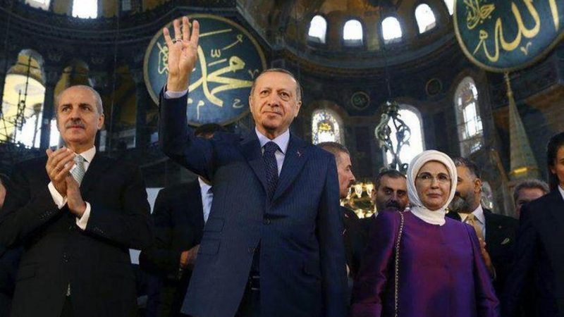 'Erdogan is openly calling for re-establishment of caliphate in Turkey'