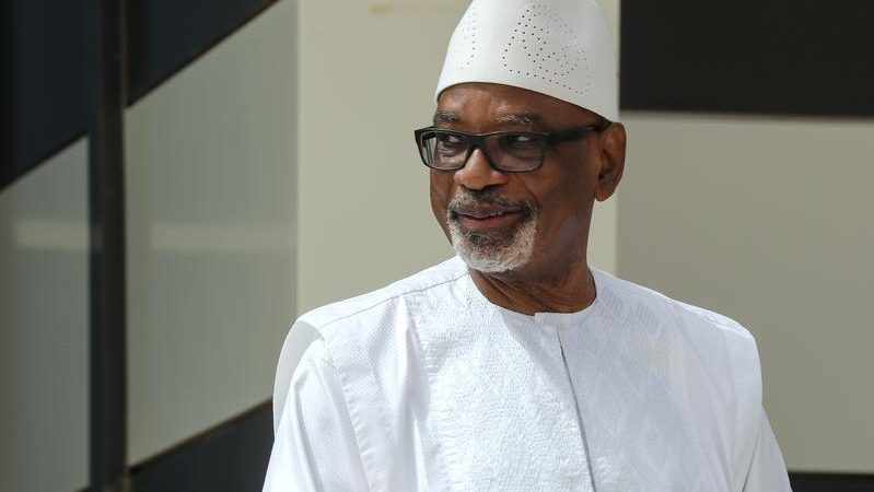 Mali's ousted president returns home after treatment abroad