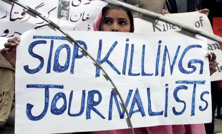 Journalists in Pakistan call for legislation to protect press freedom
