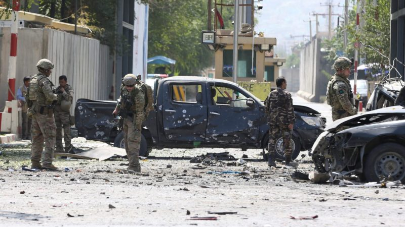 Suicide car bomb blast in Kabul kills 2, wounds 4
