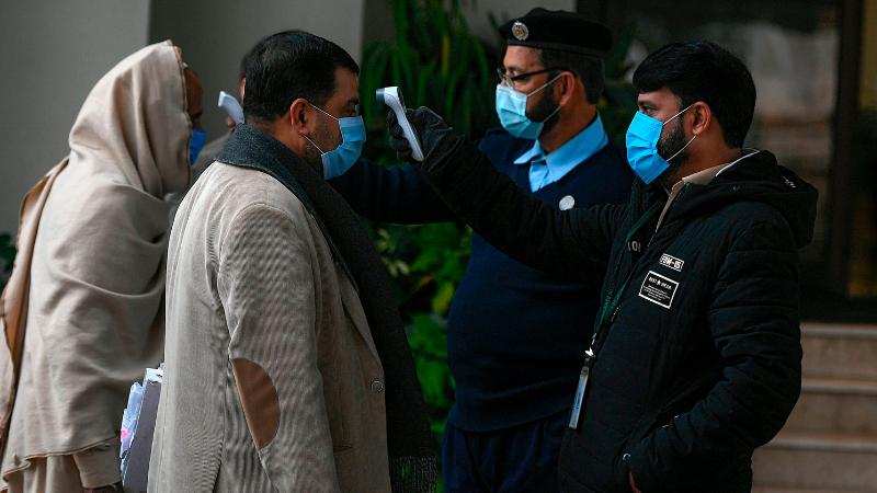 Hospitals full as second wave of coronavirus grips Pakistan