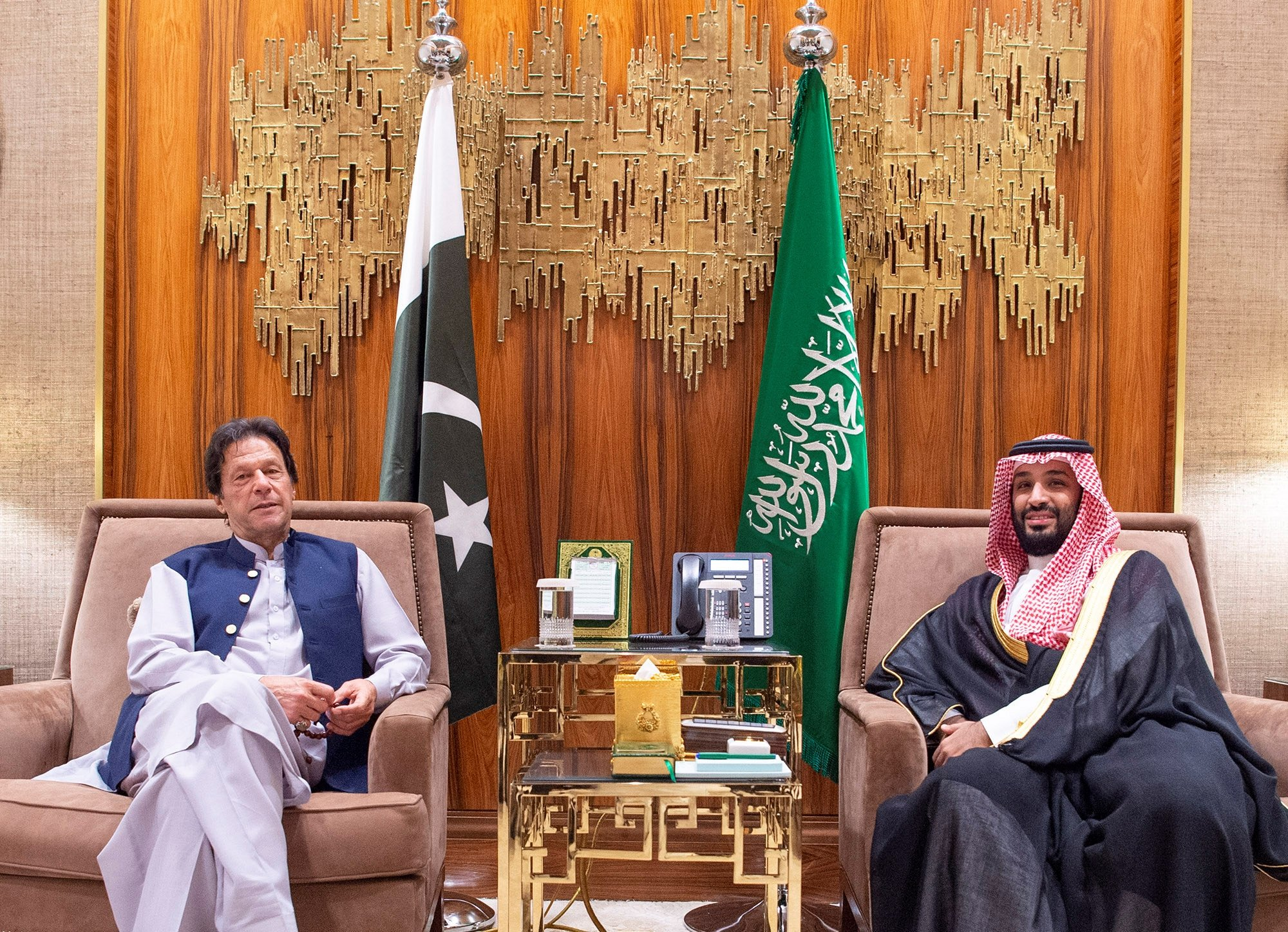 Pakistani PM Khan says he is under pressure to recognize Israel