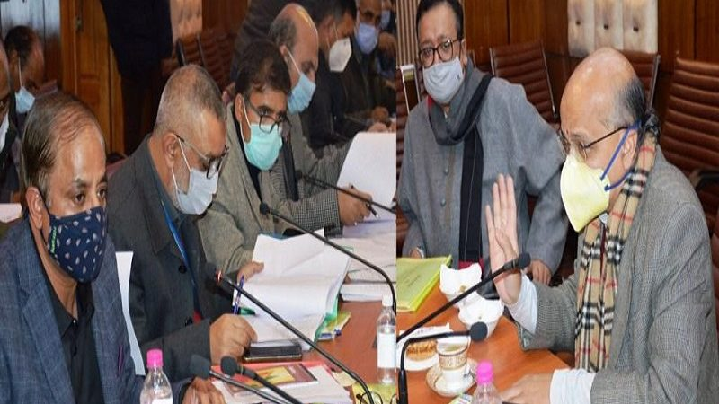 J&K: State Level Empowered Committee meeting on MIDH held