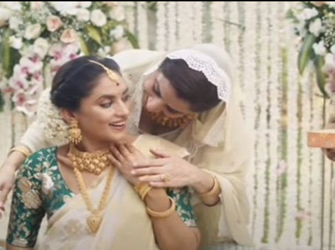 Tanishq: Indian jewellery brand forced to pull advert showing mixed Hindu-Muslim couple after right-wing trolling