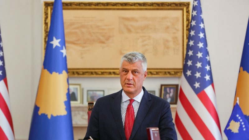Kosovo president resigns to face war crimes charges