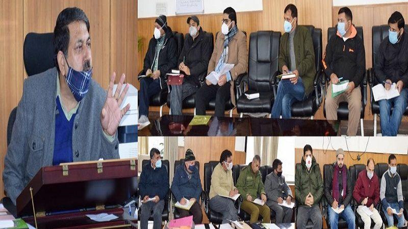 J&K: DC Kishtwar chairs task force meet of COVID19 vaccination