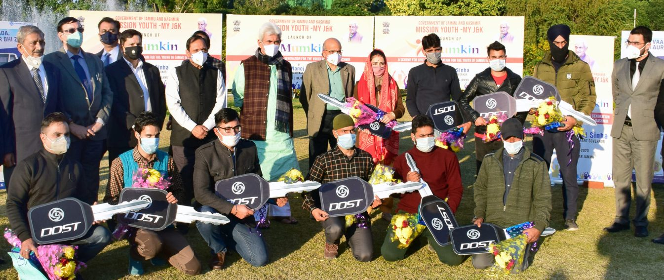 J&K: Lt Governor dedicates customized livelihood programme 'Mumkin' for transport sector to youth