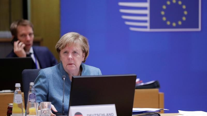 EU to discuss arms exports to Turkey with NATO and U.S., Merkel says