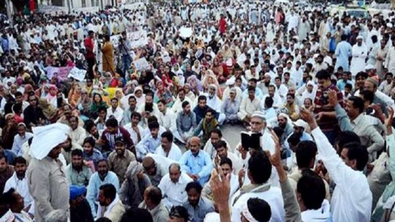 PoK teachers protest in Muzaffarabad, demand salary hike