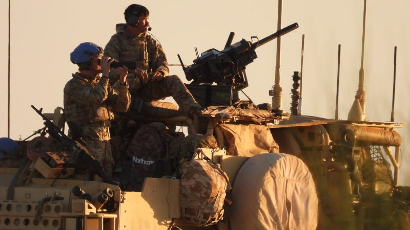 British troops begin missions in Mali amid Islamist insurgency