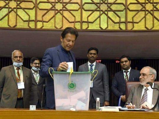 Pak Senate polls: Imran Khan's PTI loses Islamabad seat to former PM Gilani
