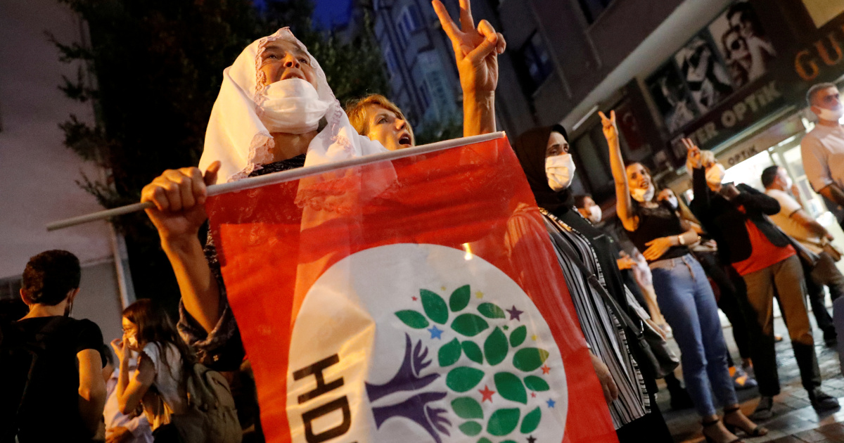 Turkish police detain pro-Kurdish HDP officials, rights activist