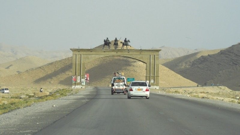 Balochistan in lack of good governance and ignored issues.