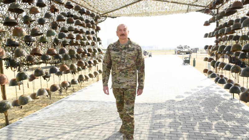 Fury in Armenia as Azerbaijan displays war trophies