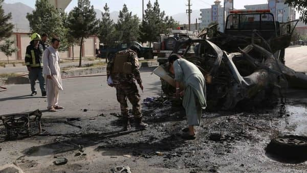Afghanistan witnessed two blasts in a day