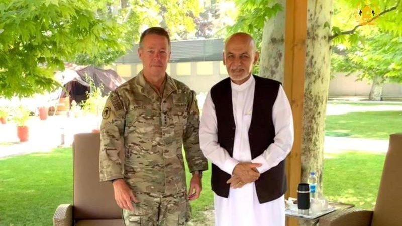 In symbolic end to war, U.S. general departs Afghanistan