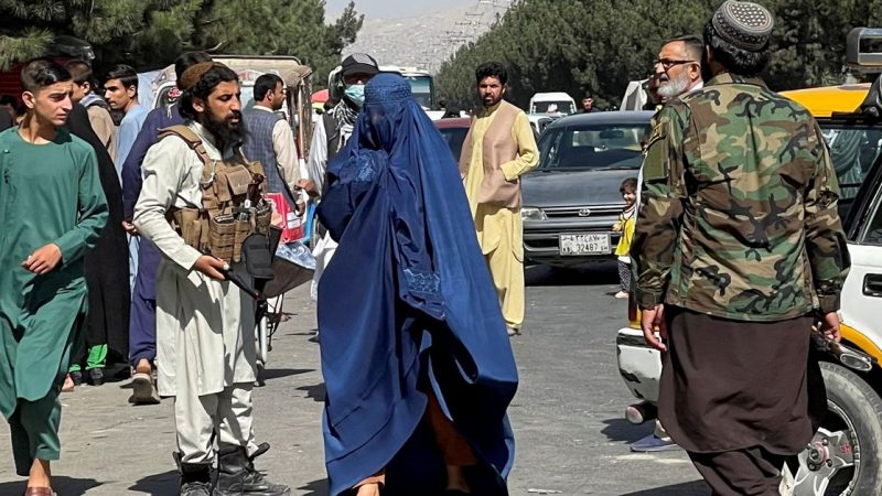 Women protest against harassment in Taliban lead Afghanistan