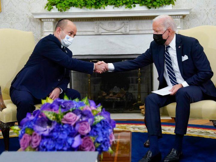 Bennett 'happy' as Biden touts 'other options' against Iran
