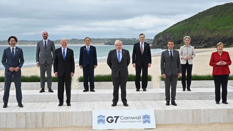 G7 nations will have stockpiled a billion spare Covid vaccine doses by end of 2021, analysis shows