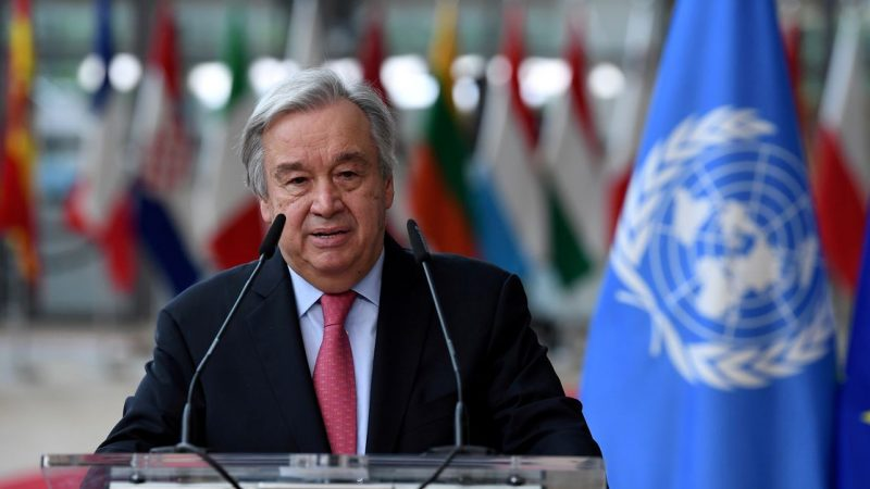 U.N. chief urges Taliban restraint, is concerned about women, girls