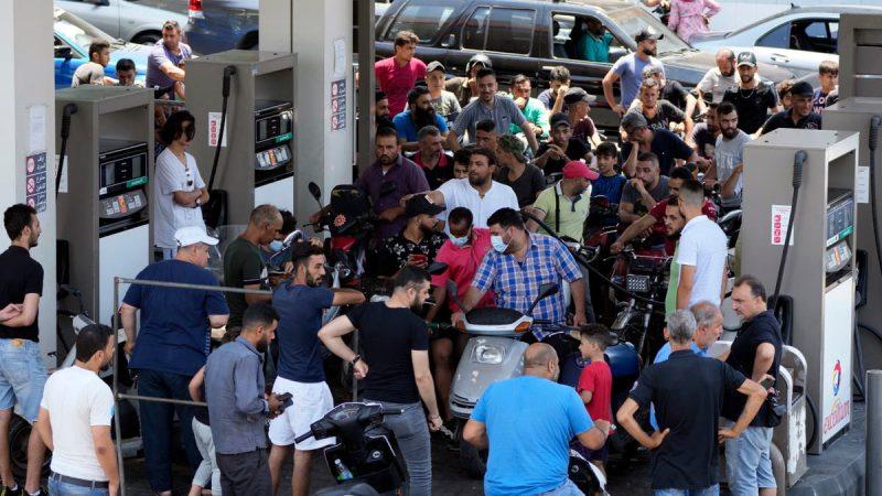 Brawls over scarce fuel in Lebanon turn deadly, 3 killed