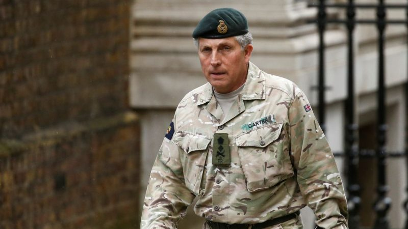The Taliban could be different this time, Britain's army chief says