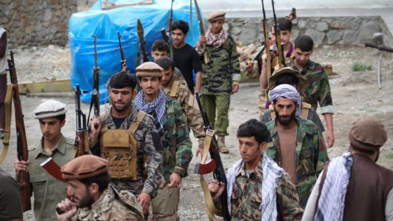 Taliban, opposition fight for Afghan holdout province, top U.S. general warns of civil war