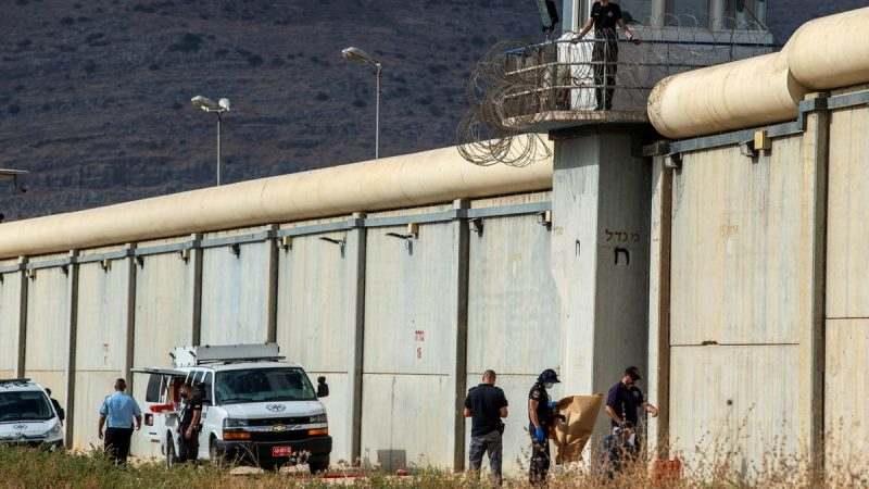 Massive manhunt after six Palestinians break out of high security Israeli prison