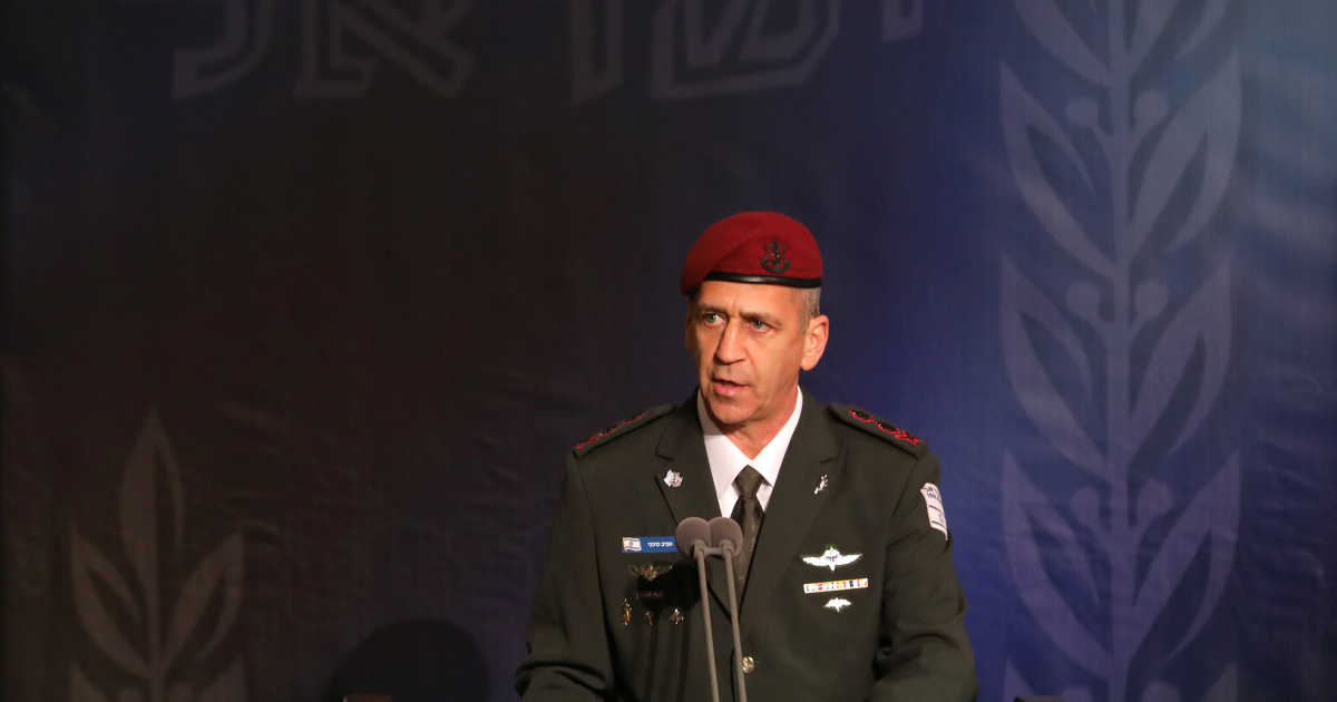 Israel's military chief says 'accelerating' Iran strike plans