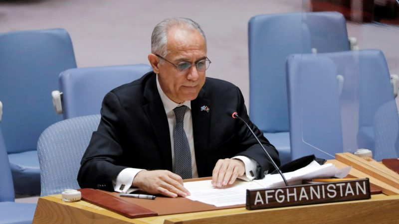 Afghanistan envoy withdraws from UN General Assembly debate